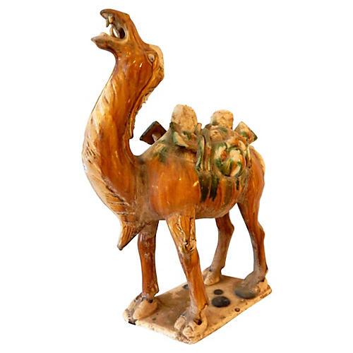 Tang-Style Terracotta Dromedary