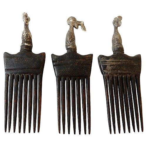 Baule Côte d'Ivoire Combs, S/3