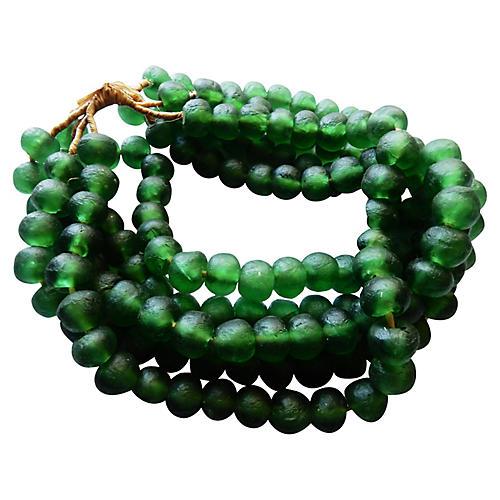 Jumbo Glass Trade Bead, S/5 160 Beads