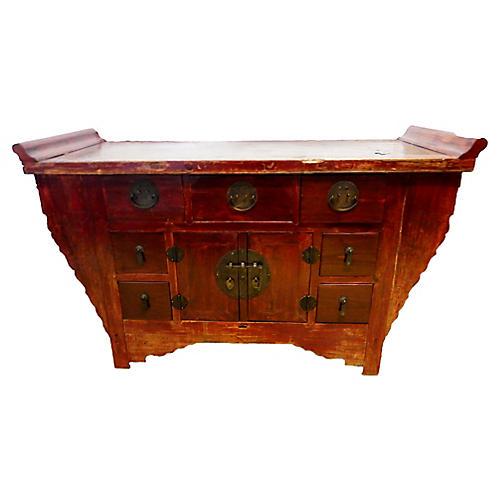 Cantonese Altar Table Chest