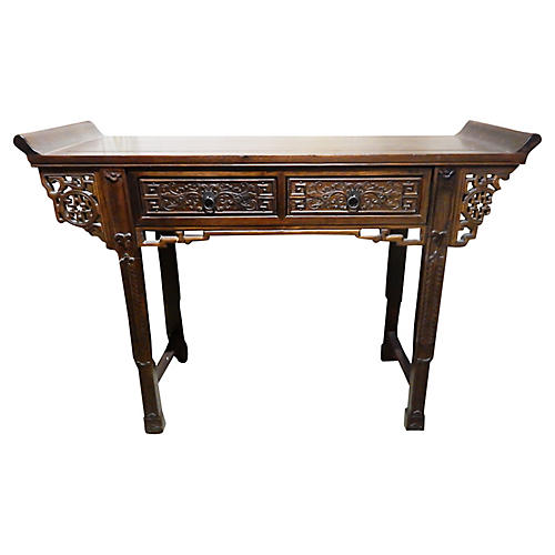 Cantonese Console Altar Table