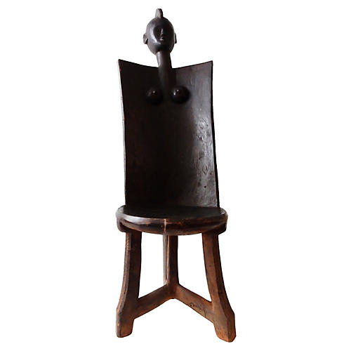 African Makonde Chair