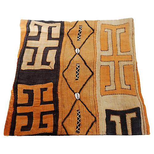 African Kuba Pillow Cover