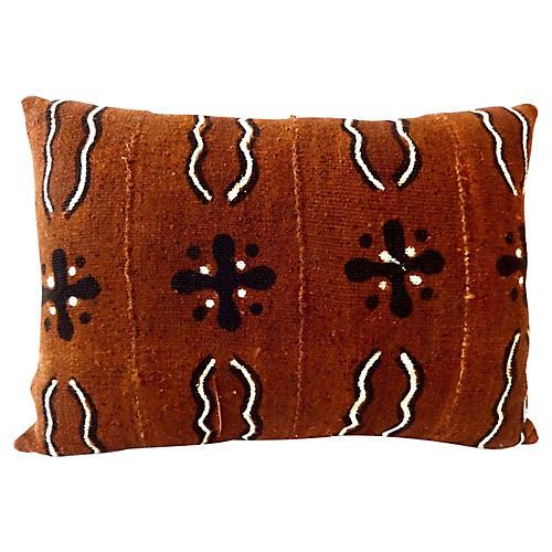 Bogolan Lumbar Pillow Mali
