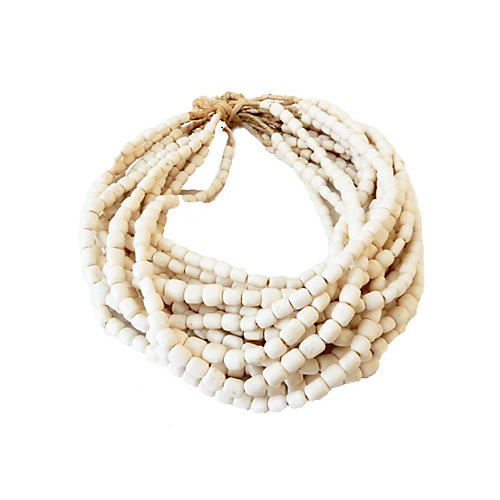 Currency Bone Trade Beads, S/20