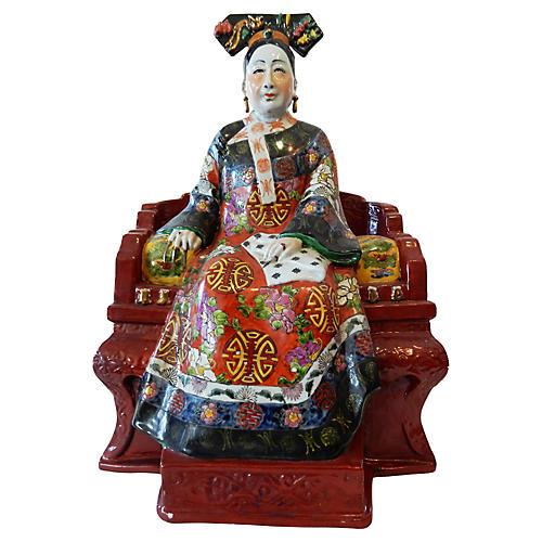 Famille Rose Empress Figurine