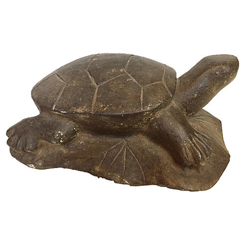 Tortoise Limestone Sculpture