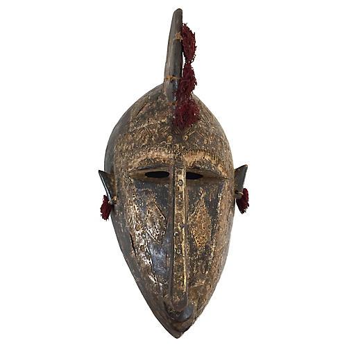 Senufo Twin Kpelie Mask