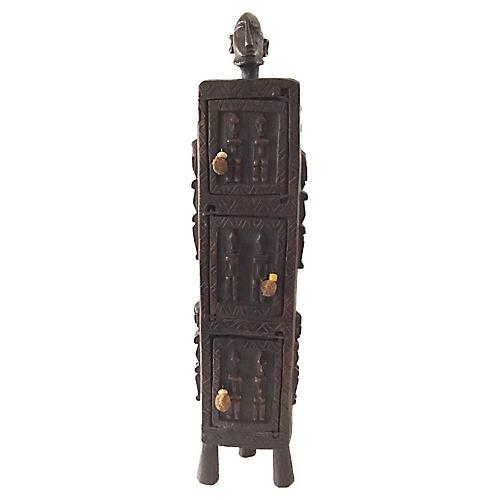 Rare Dogon Ceremonial wood Box