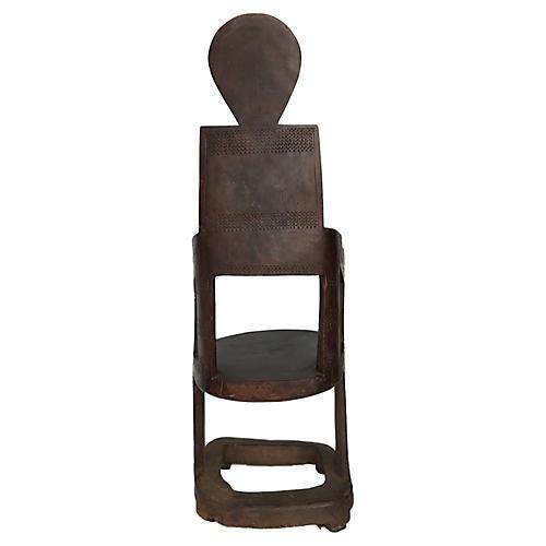 Tanzanian Makonde Chair