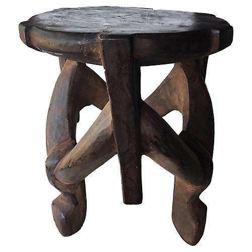 Makonde Three-Legged Stool/table