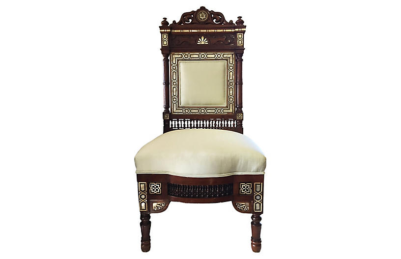 19th C Middle Eastern Chair
