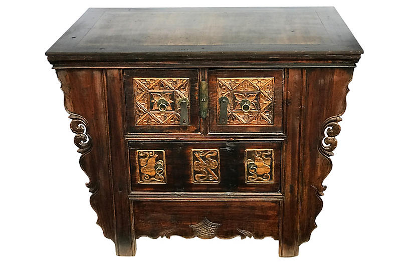 Cantonese Chest Of Drawers