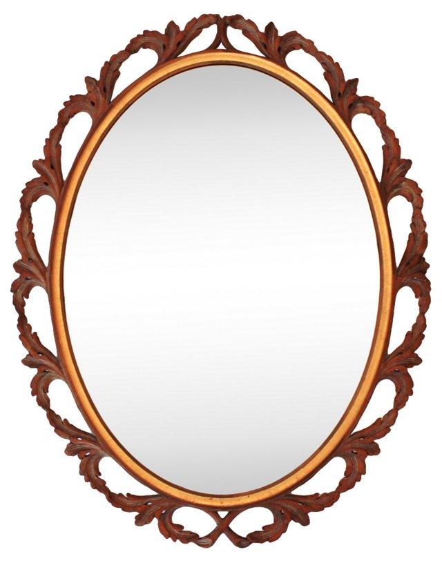 Harris Interior Arts Carved Mirror
