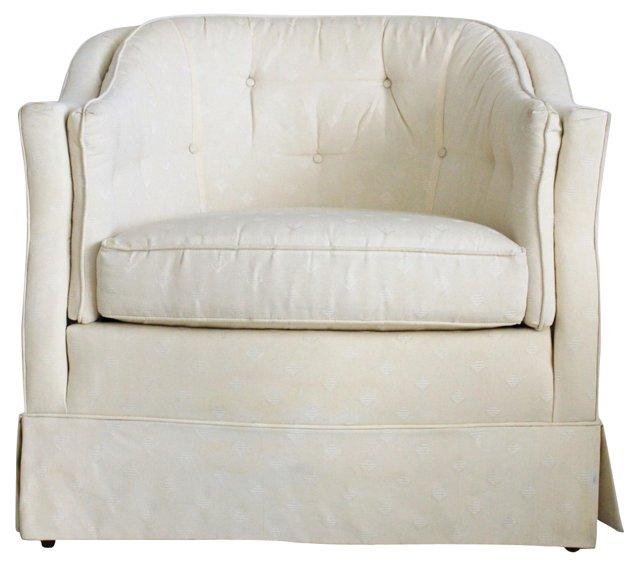 Cushioned Tub Chair by Henredon