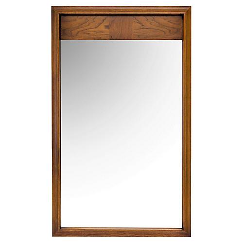 Midcentury Walnut Mirror