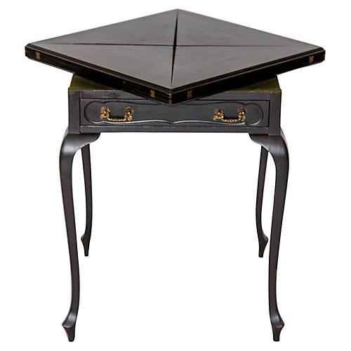 19th-C. Howell & Co. Game Table