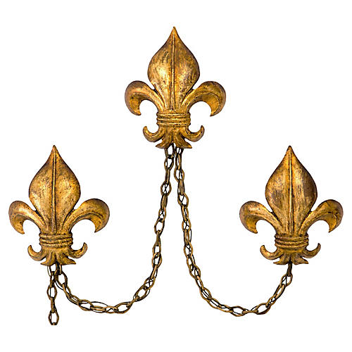 Italian Sconces by S. Salvadori, S/3