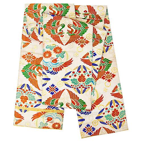 Japanese Silk Brocade Obi