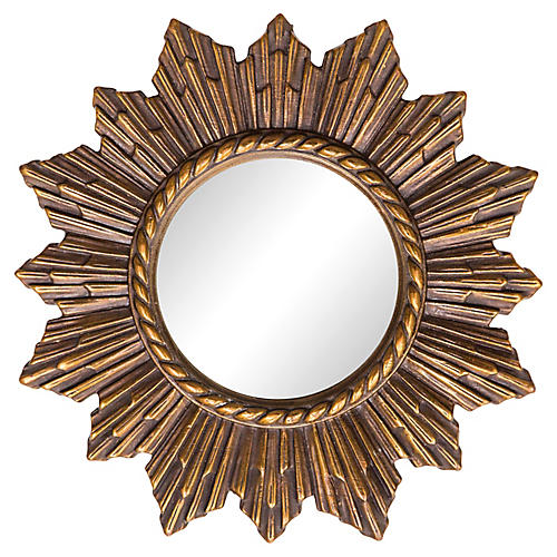 Convex Starburst Mirror