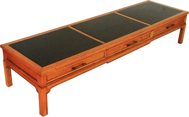 3-Drawer  Coffee Table