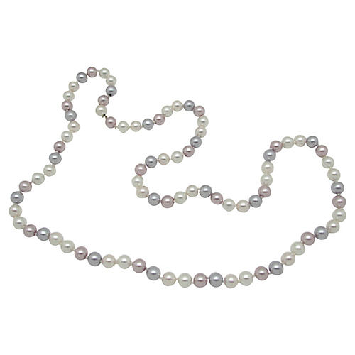 Richelieu Multicolor Faux-Pearls