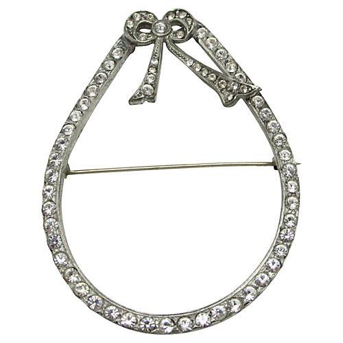 Edwardian-Style Bow Brooch