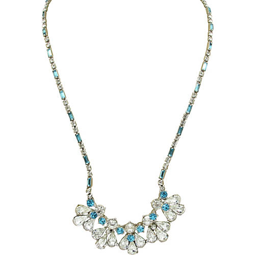 Bogoff Rhinestone Necklace