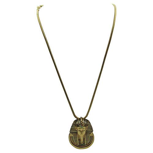 Egyptian Revival Necklace, Eisenberg