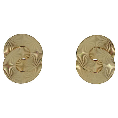 Midcentury Concentric Earrings