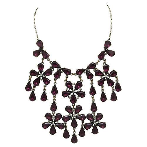 Floral Festoon Necklace
