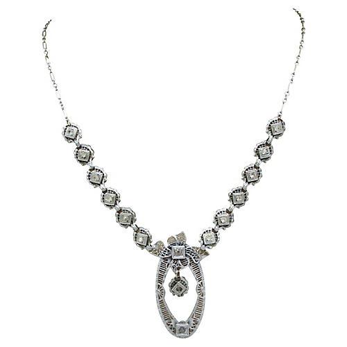 Ornate Edwardian Filigree Necklace