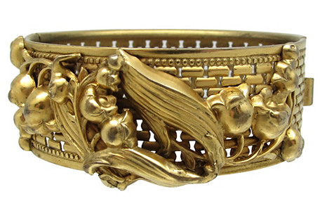 Art Nouveau-Style Bangle