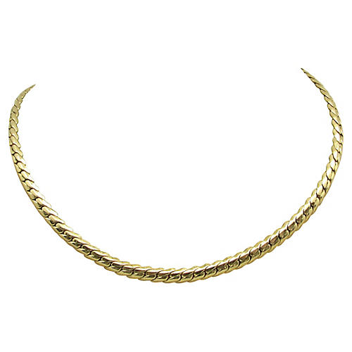 Napier Chain Collar Necklace