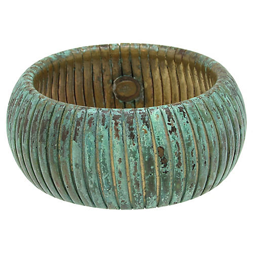 Les Bernard Patinated Bangle