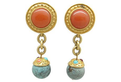Leslie Block Pendulum Earrings