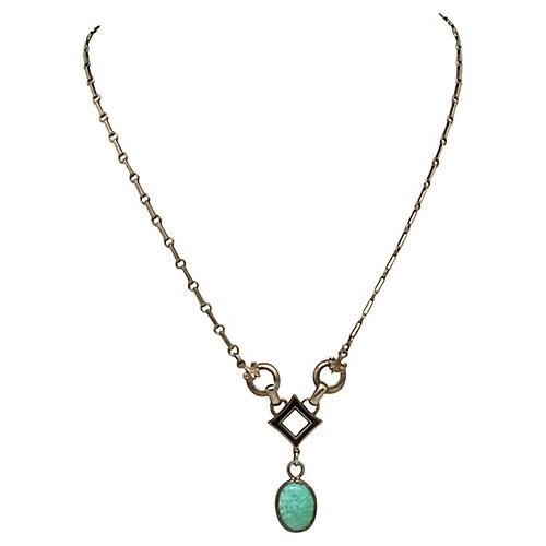 Revival Enameled Necklace