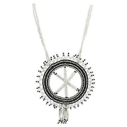 Dream Catcher Beadwork Necklace