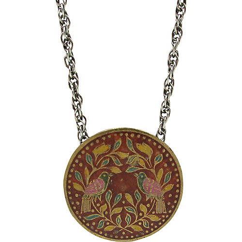 Lee Bernay East Indian Pendant on Chain