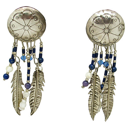 Native American-Style Earrings
