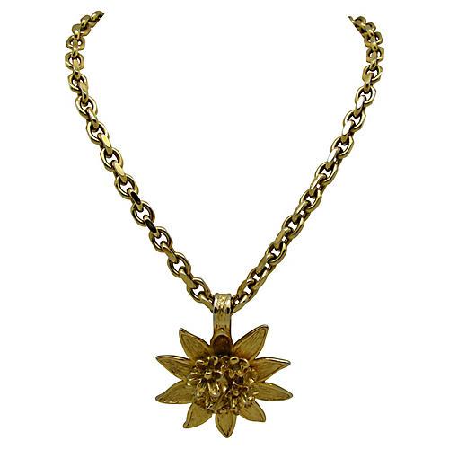 Guy Laroche Paris Sunflower Necklace