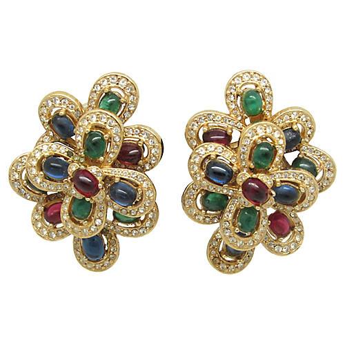 Ornate Ciner Earrings