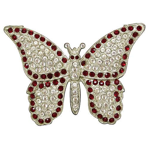 1920s Butterfly Brooch