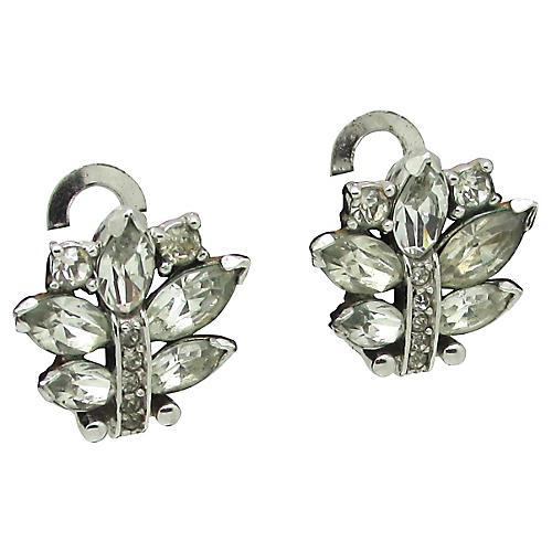 Pennino Rhinestone Earrings