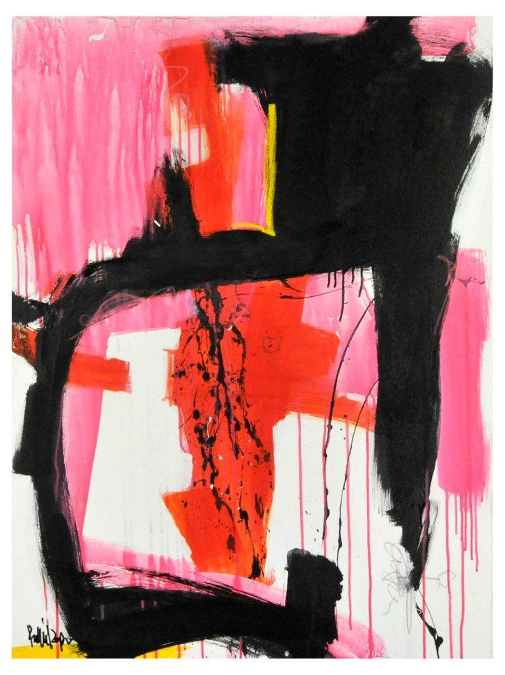 Orange & Pink Curve by Robbie Kemper