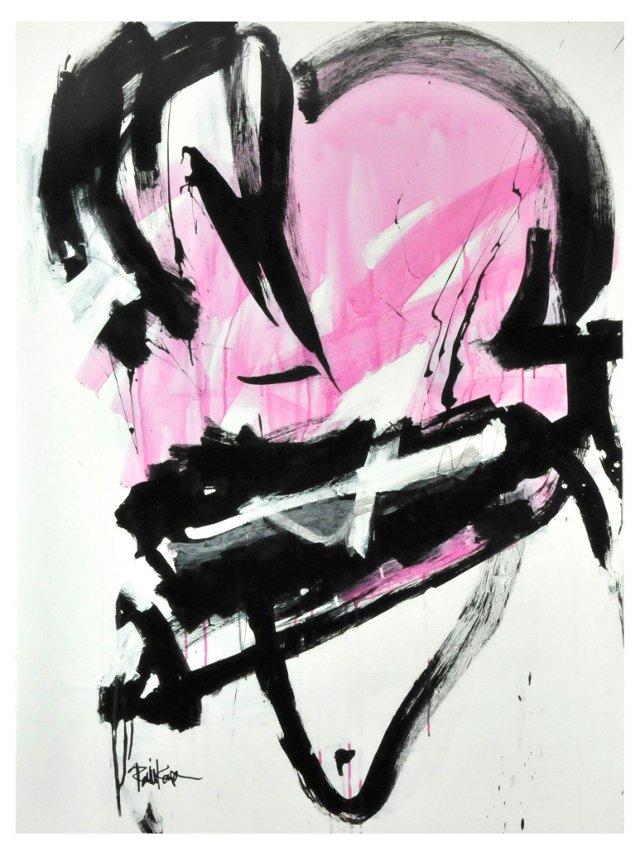 Black & Magenta Wash by Robbie Kemper