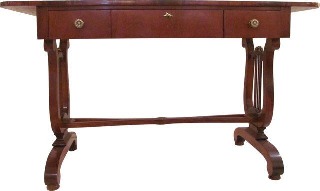 European-Style Lyre Desk