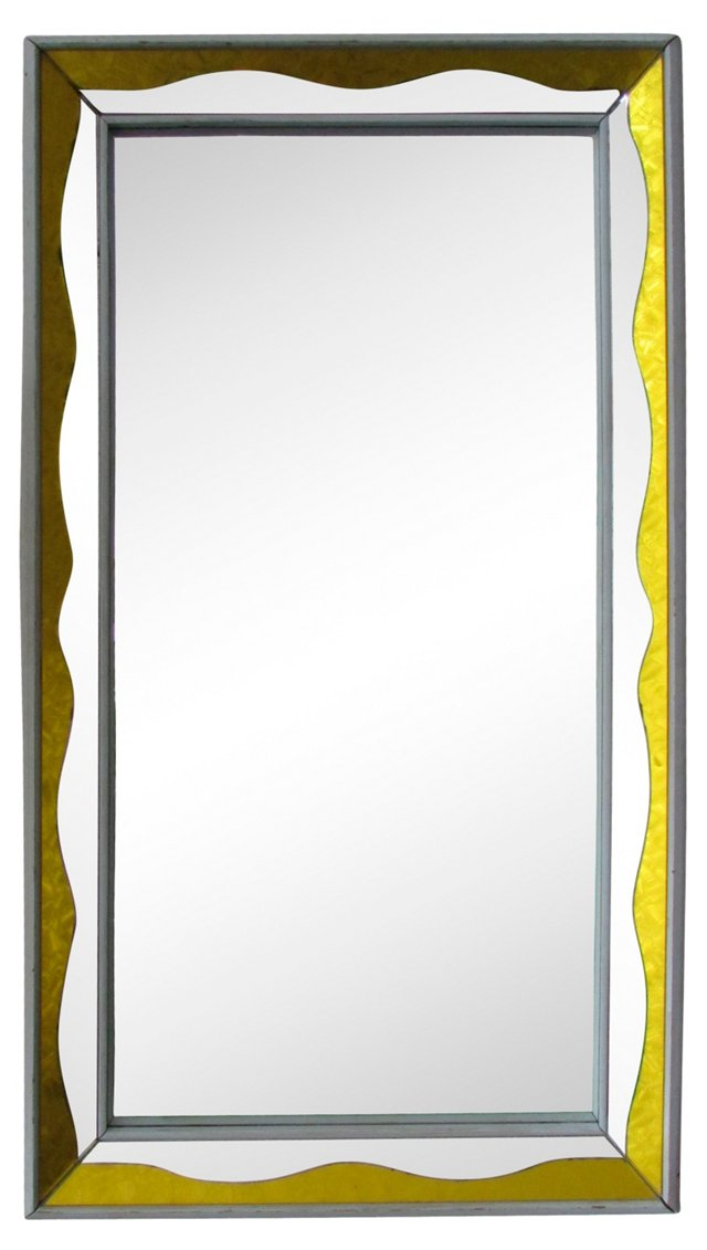 French Art Deco-Style Mirror