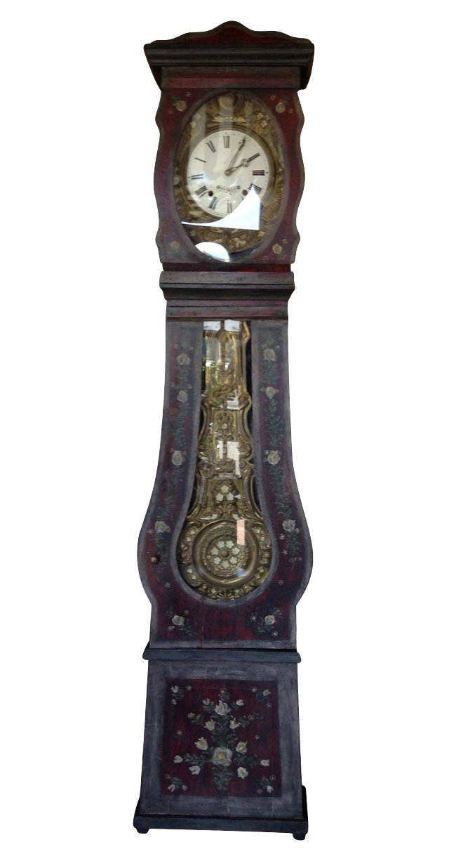 19th-C. French Standing Clock