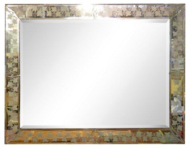 Venetian Mirror w/ Ivy  Border